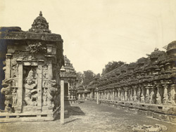 East view of the shrine, Kailasanatha Temple, Great Conjeeveram, Chingleput District 398